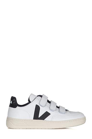 2babbf75b0 VEJA - Sneakers Femme XCW020005 Velcro Couleur Blanc: Amazon.fr ...