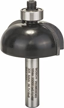 Bosch 2 608 628 365 - Fresas para medias cañas - 8 mm, R1 12 mm, D 36,7 mm, L 16 mm, G 58 mm (pack de 1): Amazon.es: Bricolaje y herramientas