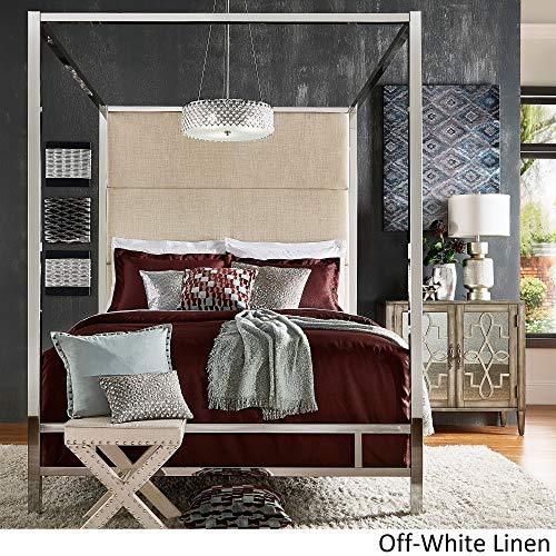 Amazon.com: Inspire Q Evie con metal chapado en cromo (cama ...