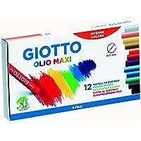 意大利 GIOTTO 奇多 12色圆形油画棒293000