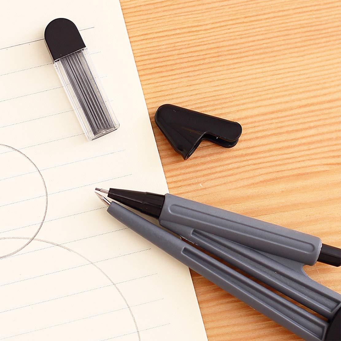 Geometria Tools set compasso goniometro scuola matematica per geometria Back to School Gift include righelli goniometro compasso matita portamine cancellino per studenti e disegni tecnici