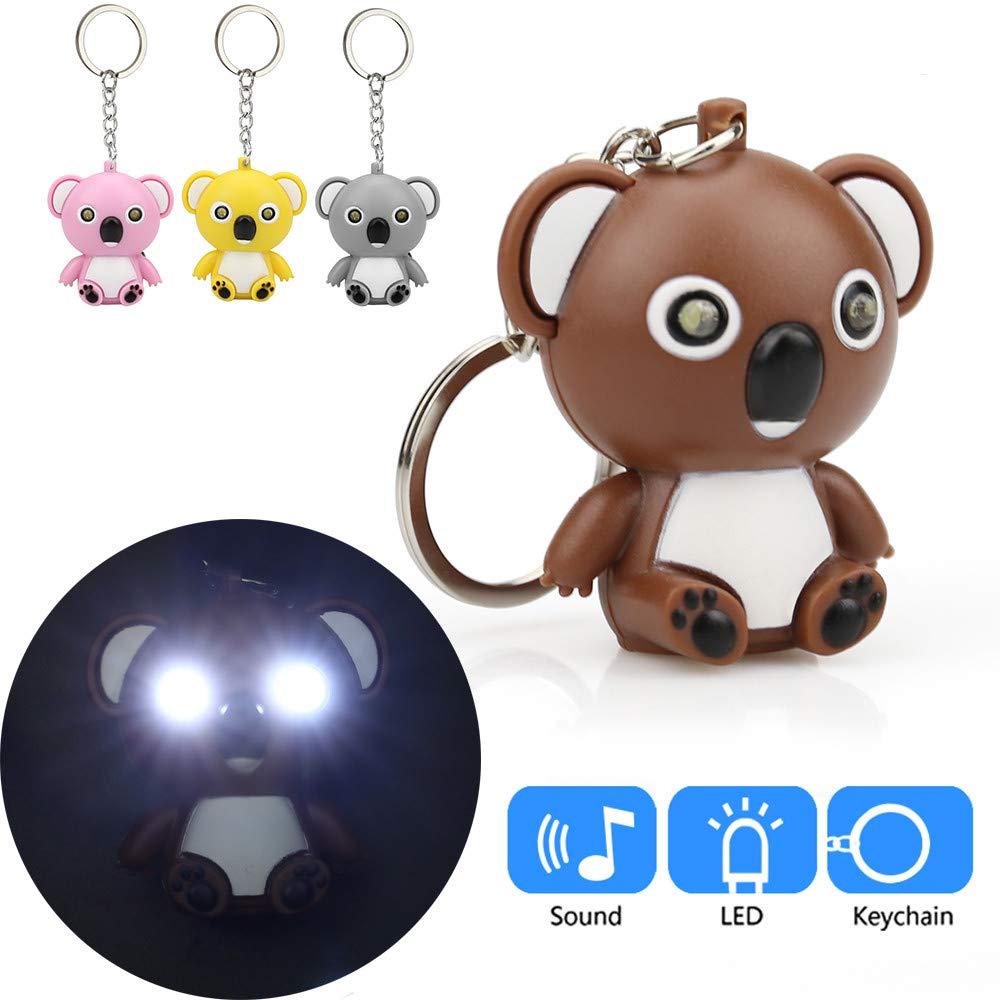 Amazon.com: Siaokim - Llavero con diseño de mini koala, luz ...