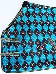 """Challenger Horsewear 76"""" Horse Sheet Polar FLEECE COOLER Exercise Blanket Wicks Moisture 4390"""