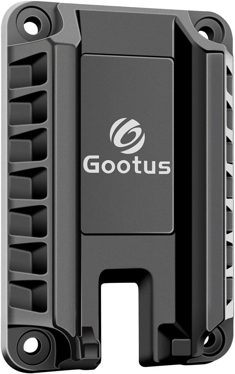 Gootus Gun Magnet Mount Holster - 35Lbs Magnetic Pistol Holder for Car and Home - Tactics Firearm Accessories, Quick Load & Draw for Self Defense