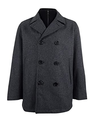 1525ecfbe0 Image Unavailable. Image not available for. Color: INC International  Concepts Men's Double-Breasted Peacoat ...