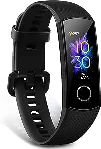 Oferta amazon: HONOR Band 5 smartwatch,Pulsera de Actividad Inteligente Reloj Impermeable IP68 con Pulsómetro,Monitor de Actividad Deportiva, Fitness Tracker con Podómetro Negro (Versión Global)