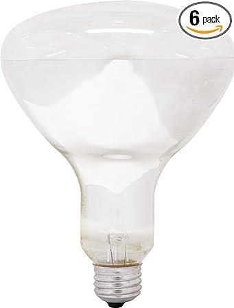 Ge Incandescent Flood Light Bulbs Br30 Flood Lights 65 Watt 615 Lumen Medium Base Soft White 6 Pack Indoor Flood Light Bulbs Recessed Light Bulbs For Indoors Household Light Bulbs Amazon Com