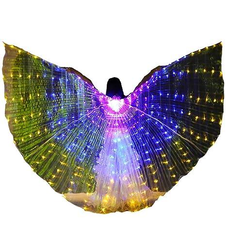 ISIS Wings como la Seda Traje de Danza del Vientre ...