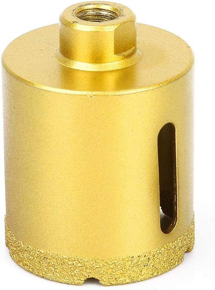 Efficiency Diamond Drill Bit Diamond Milling Bits with Screw Adapter Diamond Hole Saw Brazing angle grinder opener 65mm