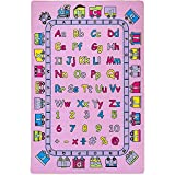 Mybecca Kids Rugs Learning Recreational Playtime