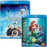 Frozen - The Little Mermaid - Walt Disney 2 Movie Bundling Blu-ray