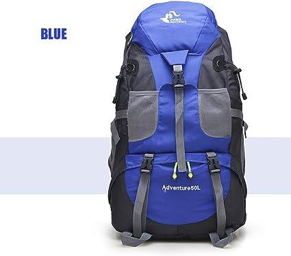 New 50LOutdoor Backpack Camping Climbing Bag Waterproof Mountaineering Hiking