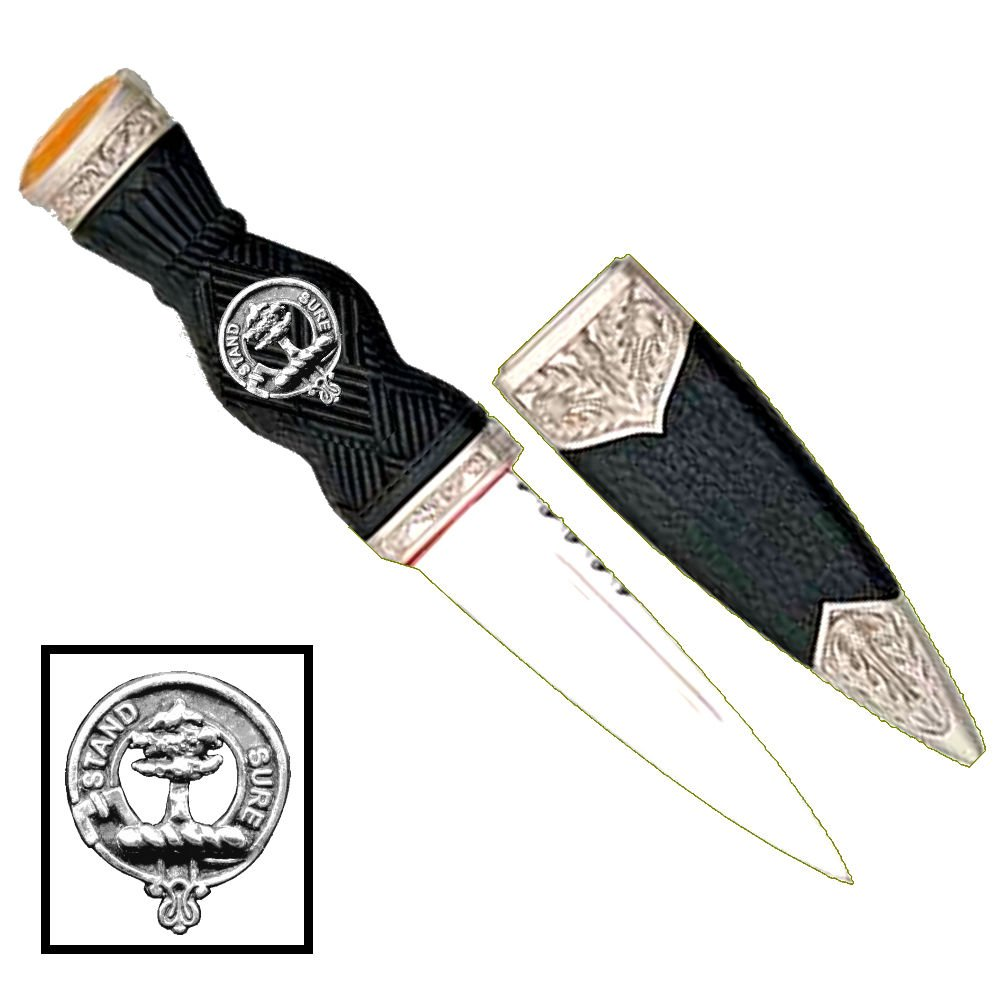 Scottish Clan Crest Sgian Dubh ~ Anderson