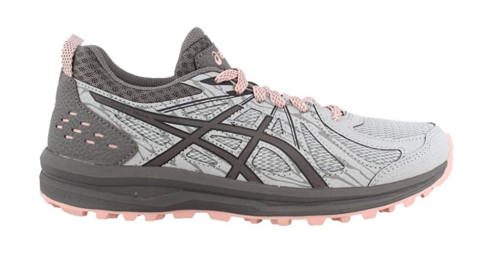 ASICS Women s Frequent Trail Running Shoe, Mid Grey Carbon, 10