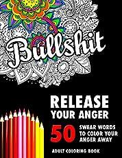 BULLSHIT 50 Swear Words To Color