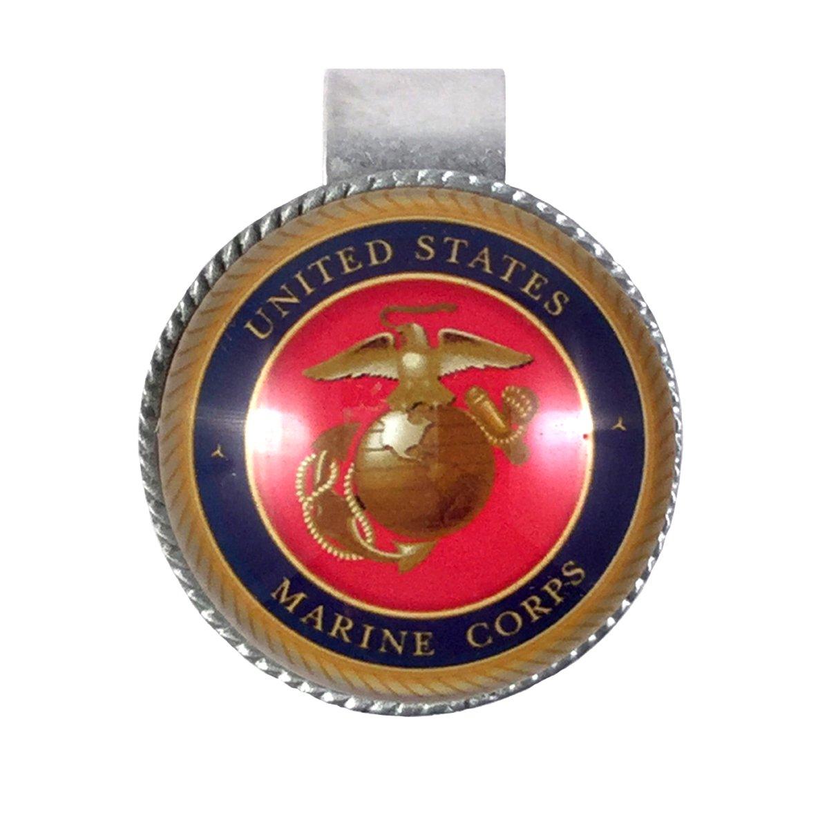MAG Jewelry Marines Military Visor Clip R1212-1