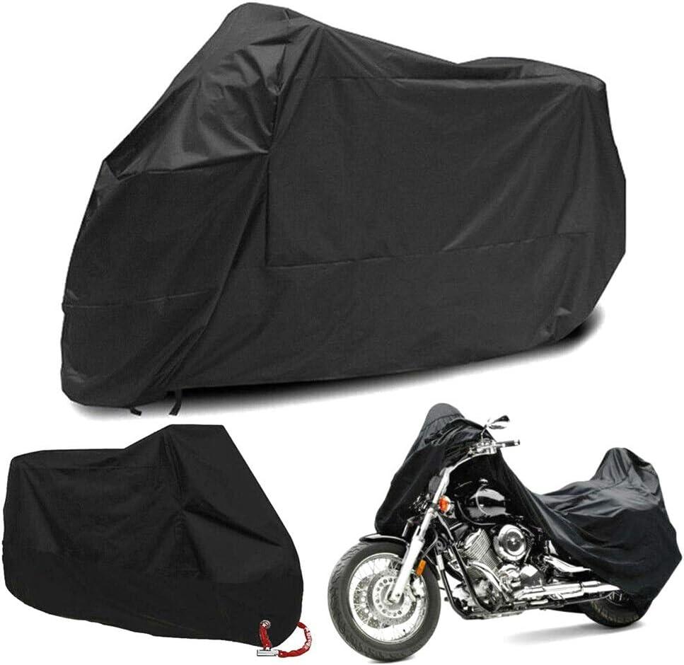 XXXL Motorcycle Cover Waterproof Outdoor Rain Dust UV Scooter Bike Protector