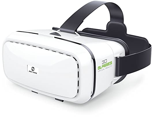 150a28057 Holy Stone 3D VR Headset Virtual Reality Glasses with Adjustable Lens and  Strap for Drone,