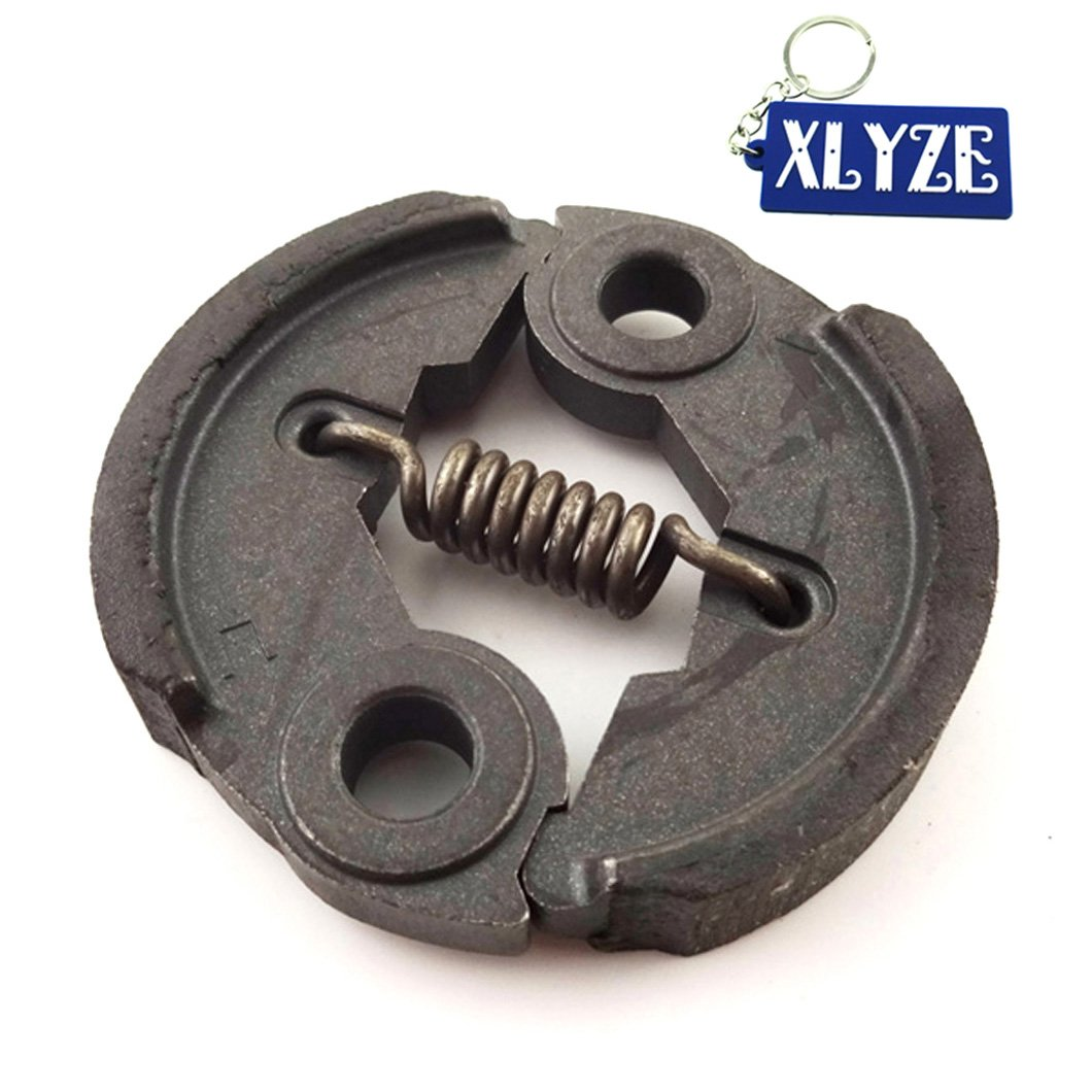 XLYZE Heavy Duty Clutch Pad for 33cc 43cc 49cc Gas Petrol Scooters Super Pocket Bike X1 X2 X6 X7 X8 Minimoto