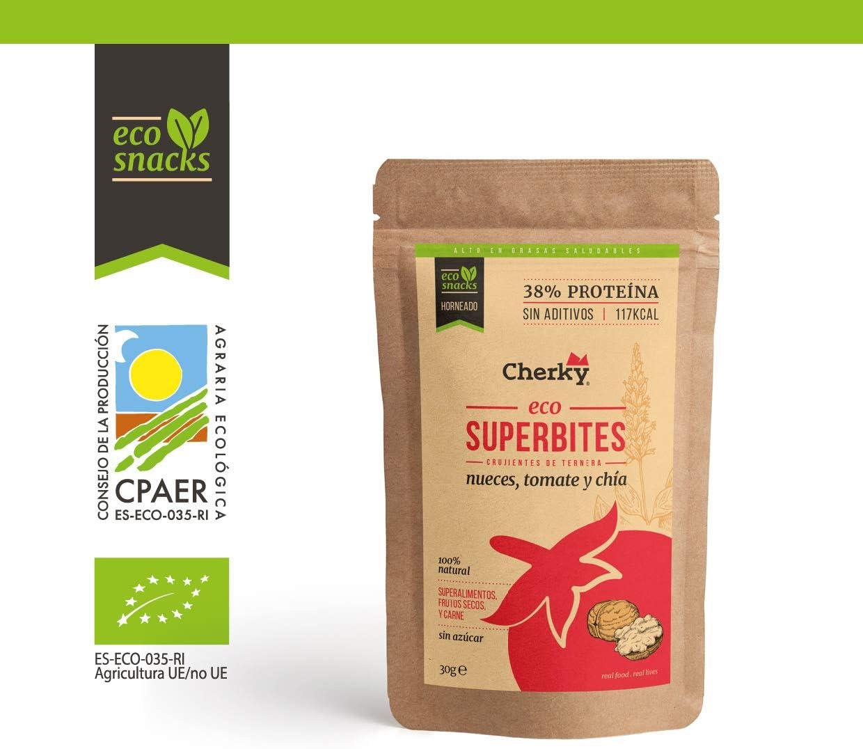 Cherky Eco Superbites Crujientes de Ternera Con Nueces ...