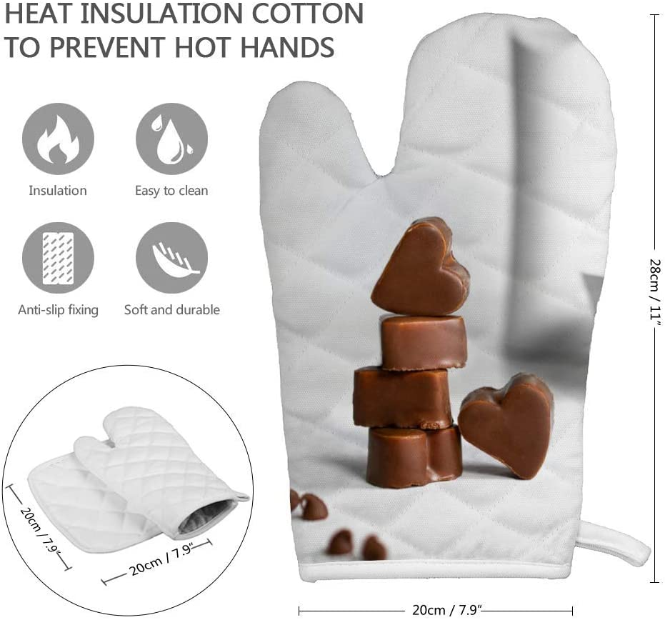 Coussin carr/é isol/é 20,5 x 20,5 cm Peut /être accroch/é 16 * 26cm N//A Gants isol/és 16,5 x 27,5 cm /épais et Durable Anti-br/ûlure et Isolation Thermique