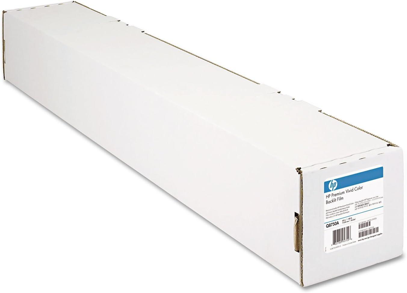 HP Premium Vivid Colour Backlit Film rollo 152,4 cm: Amazon.es: Oficina y papelería