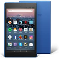 "Fire HD 8 Tablet | 8"" HD Display, 16 GB, Marine Blue"
