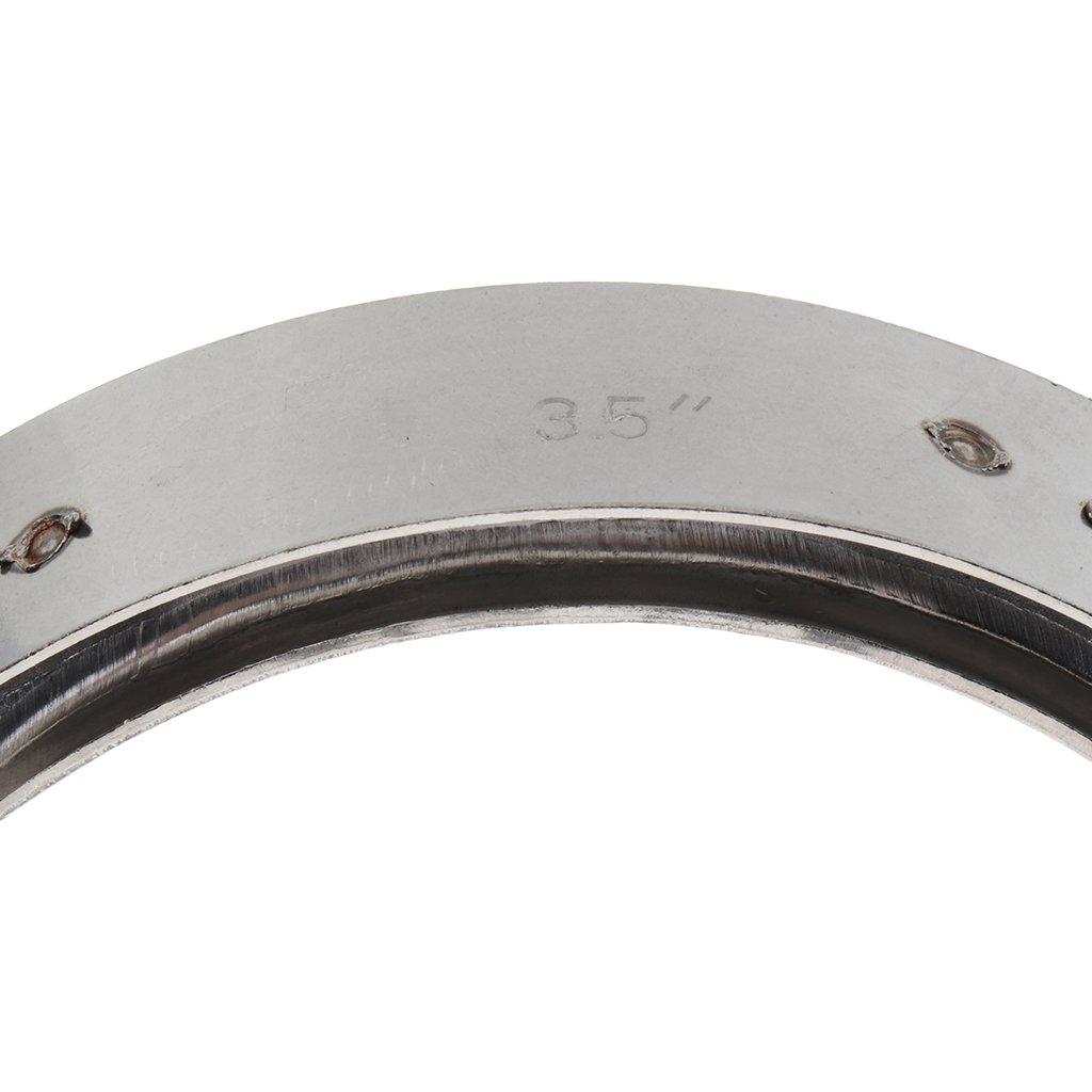 135x120x22mm MagiDeal Turbo Exhaust Pipe Hose Clamp V Band Stainless Steel 3.5inch