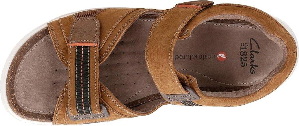 Clarks Men's Unwilmore Sun Quarter Strap Sandale,Tan - Cow Nubuck/Textile,US 14 M - Sandale,Tan a67e29