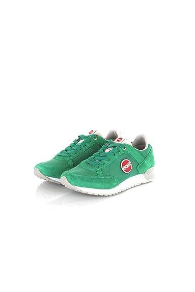 Colmar Tracol Azul Marino Gris Zapatos Grises Hombre Zapatillas de Deporte Cordones: Amazon.es: Zapatos y complementos