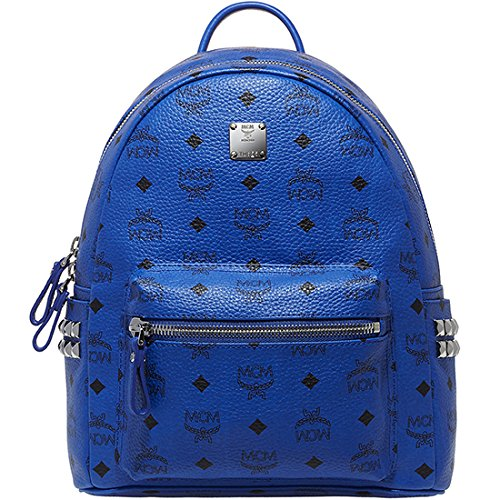 be243317bd3cd 2014 Authentic MCM Stark Backpack Small Size Mazarine Blue  Color-MMK4AVE37LM - Buy Online in KSA. Apparel products in Saudi Arabia.  See Prices, Reviews and ...