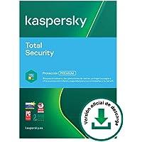 Kaspersky Total Security 2021 | 2 Dispositivos | 1 Año | PC / Mac / Android | Código de activación vía correo…