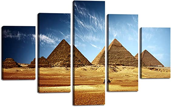 Framed Hand Painted Canvas Multi Split Panels Pictures Wall Art Landscape SALE