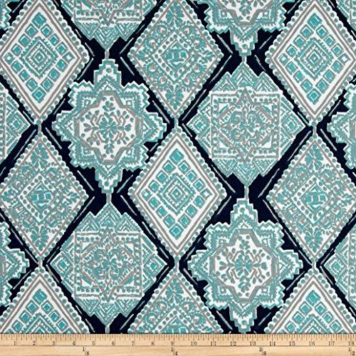 Premier Prints 0432826 Milan Indoor/Outdoor Oxford/Ocean Fabric by The Yard