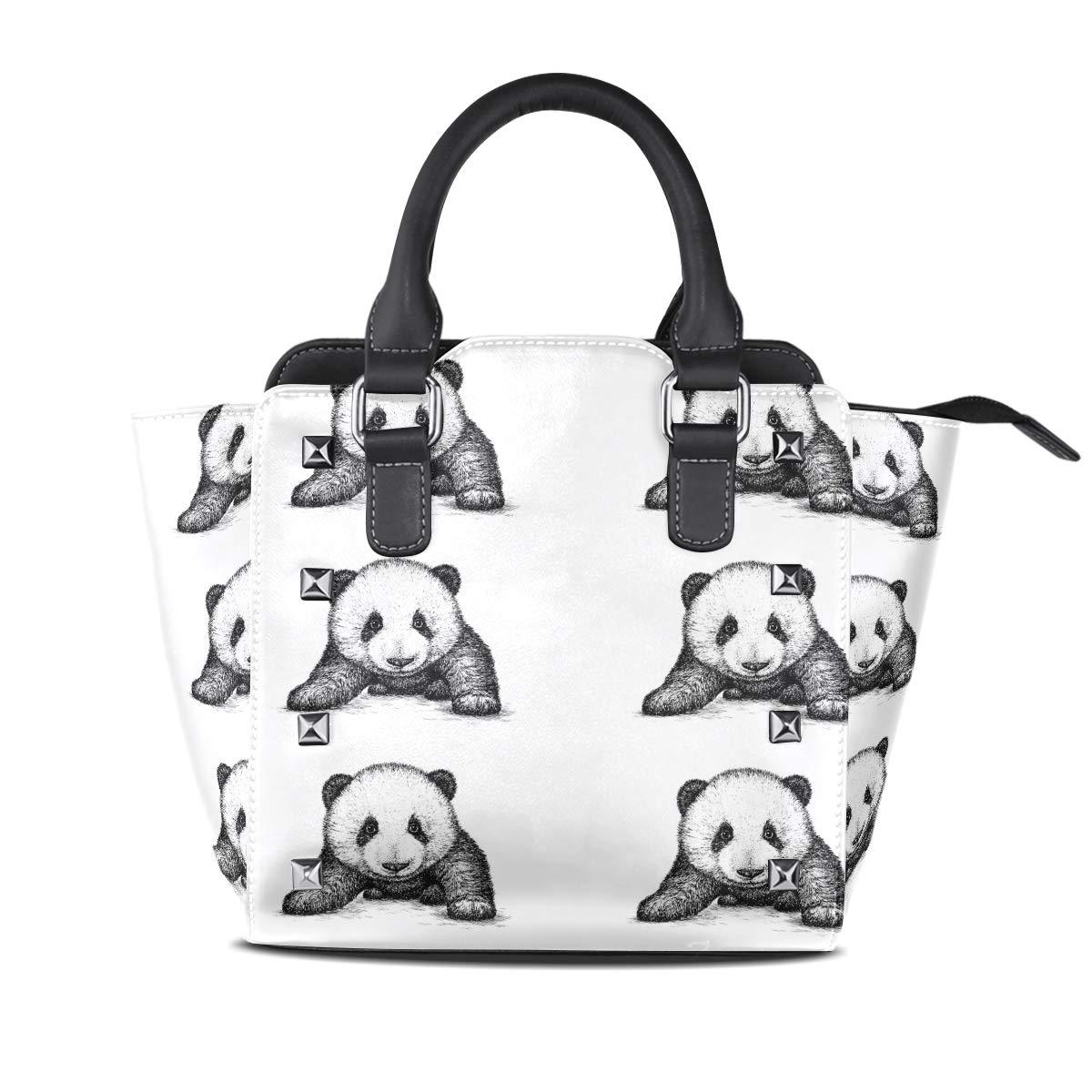 Design2 Handbag Elephant And Balloon Genuine Leather Tote Rivet Bag Shoulder Strap Top Handle Women