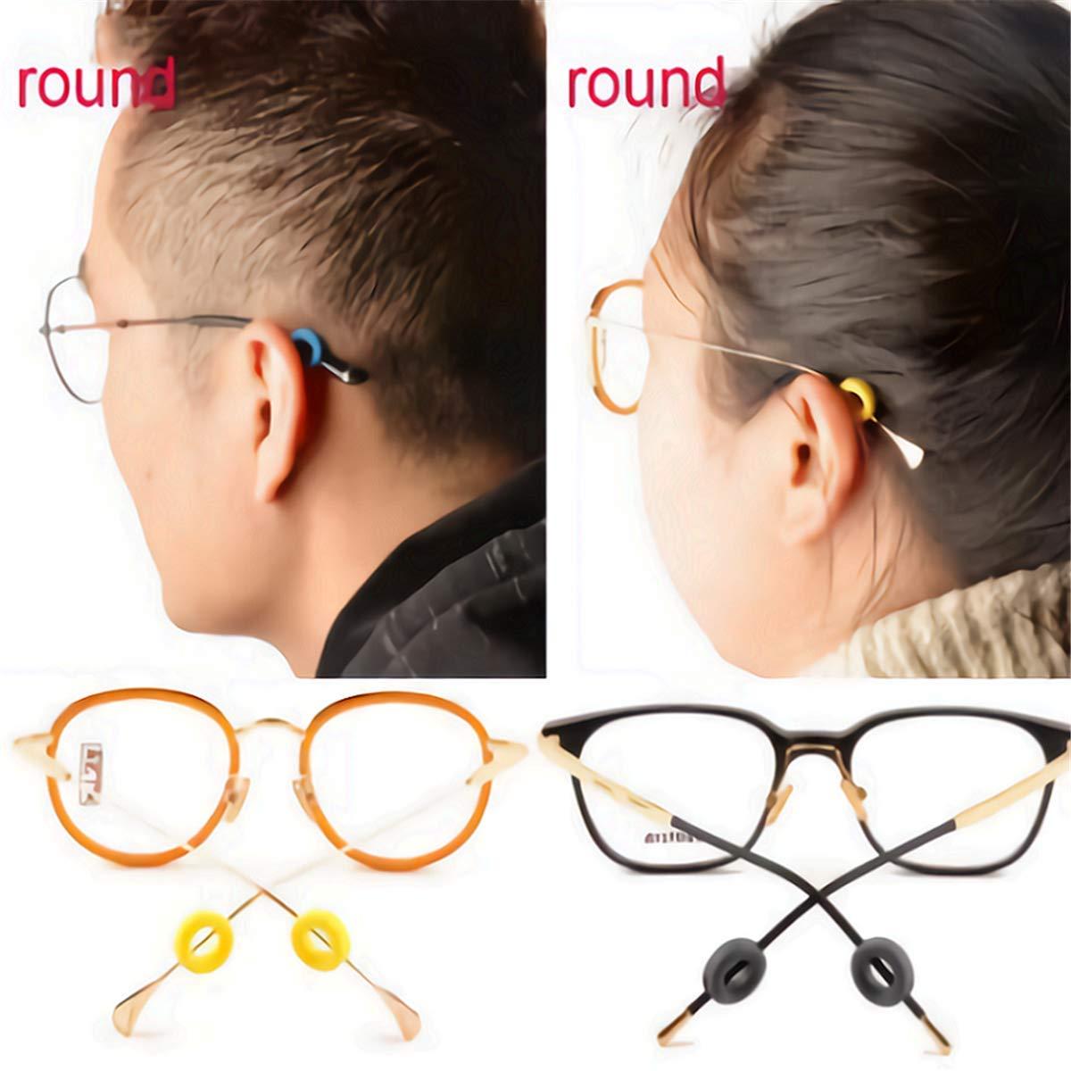 Amazon.com: Ganchos antideslizantes para gafas, gancho de ...