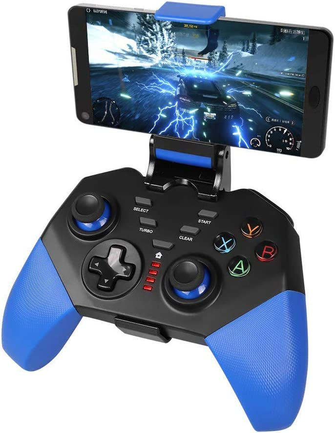 PowerLead Mobile Game Controller, PG8721 Wireless Smartphone Controller Joystick for Android, Gamepad Compatible with iOS/Android/iPad/Tablet(Incompatible with iOS 13.4 and Above)
