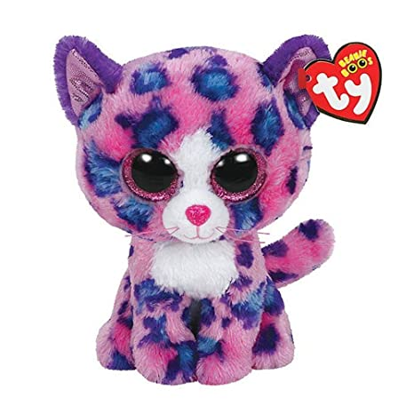 751a6b01564 Amazon.com  Ty Beanie Boos Reagan - Leopard (Claire s Exclusive)  Toys    Games