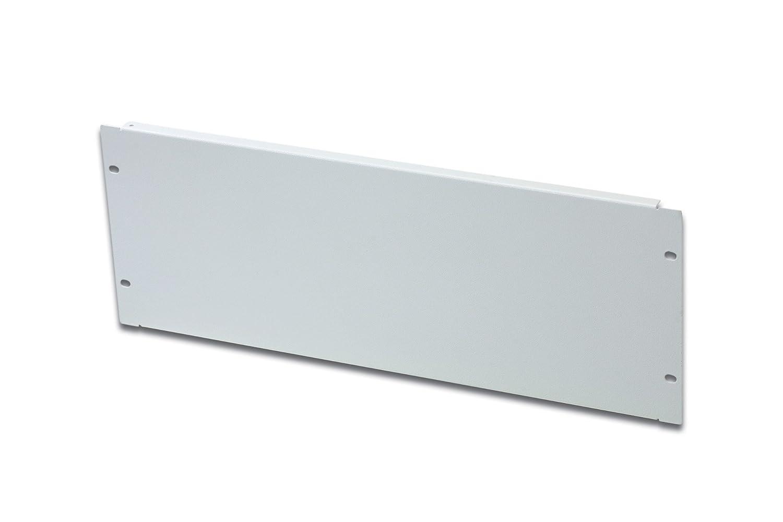 Blende f/ür Netzwerk- /& Serverschr/änke inkl DIGITUS 19 Blindabdeckplatte 3HE pulverbeschichtet Stahlblech Grau Befestigungsmaterial