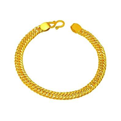 c5566bc0ad349 Buy Joyalukkas 22k (916) Yellow Gold Charm Bracelet for Men Online ...