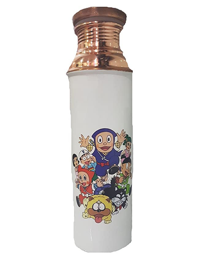sarvsiddhi Digital Impreso cobre puro Botella de agua para ...
