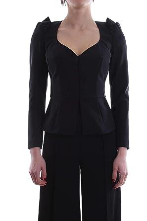 Elisabetta Franchi GI06482E2 Giacca E Blazer Donna Nero 40  Amazon.it   Abbigliamento 3b657e253366