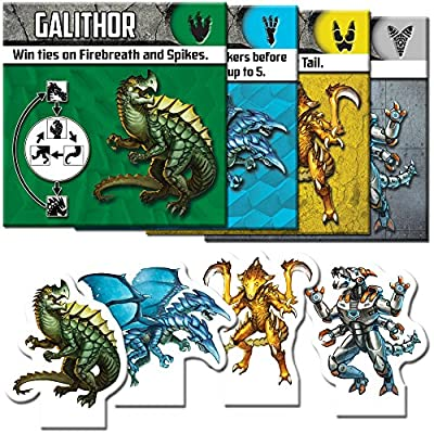 Fireside Games Kaiju Crush Board Games - Board Games for Families - Board Games for Kids 7 and up: Toys & Games