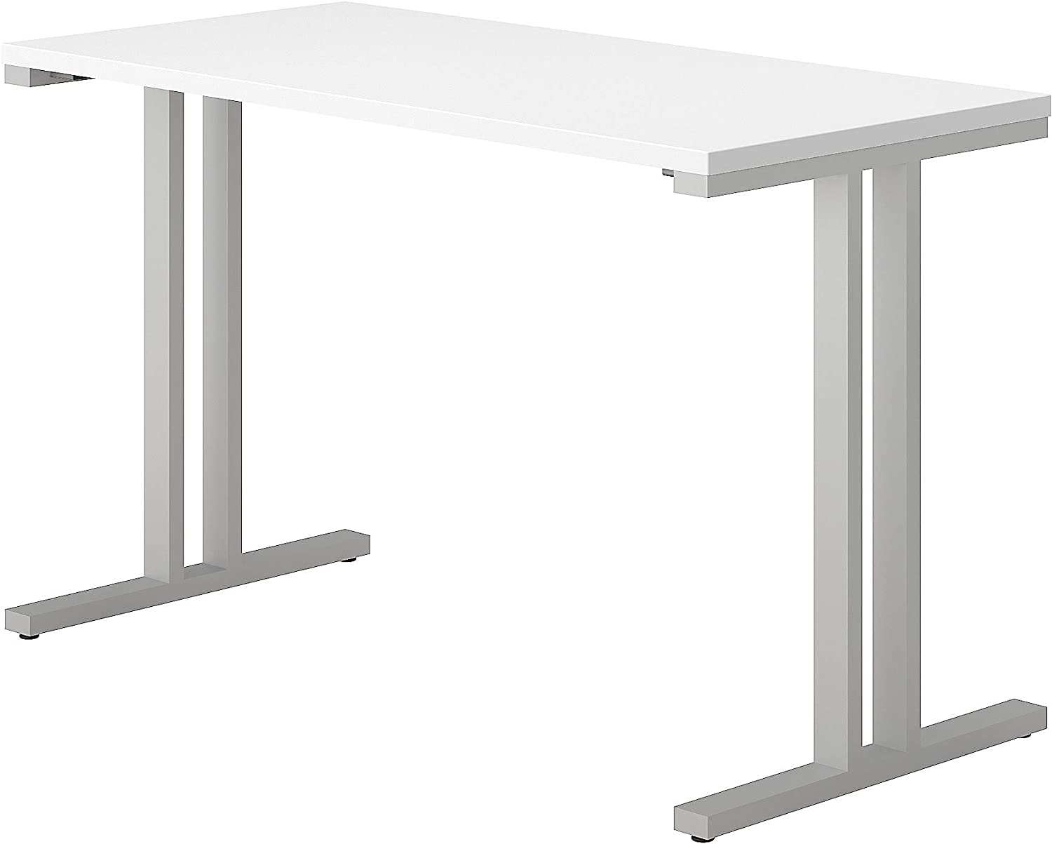 Bush Business Furniture 400 Series 48W x 24D Training Table in White