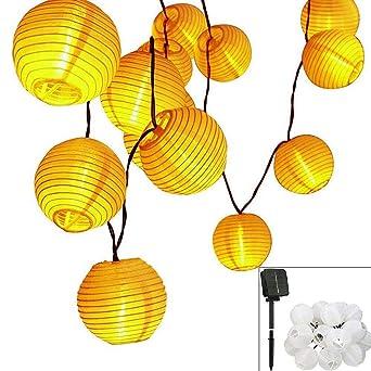 JJ. Accessory Globus - Guirnalda de luces led (funciona con pilas ...
