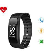 HEIHEI Fitness Tracker, Activity Trackers Watch with Step Counter,Sleep Monitor,Waterproof Pedometer Smart Wristband for Kids Women and Men