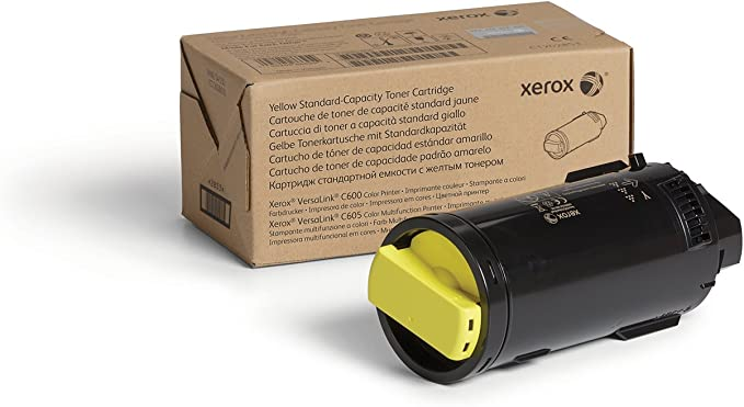 Amazon.com: Xerox VersaLink C600/C605 Yellow Standard ...
