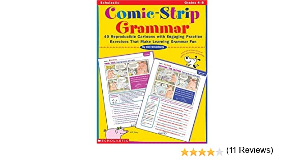 Amazon.com: Comic-Strip Grammar: 40 Reproducible Cartoons with ...