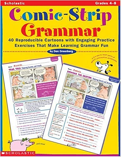 Workbook contraction worksheets for grade 3 : Amazon.com: Comic-Strip Grammar: 40 Reproducible Cartoons with ...