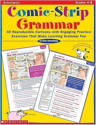 Amazon.com: Comic-Strip Grammar: 40 Reproducible Cartoons with ...